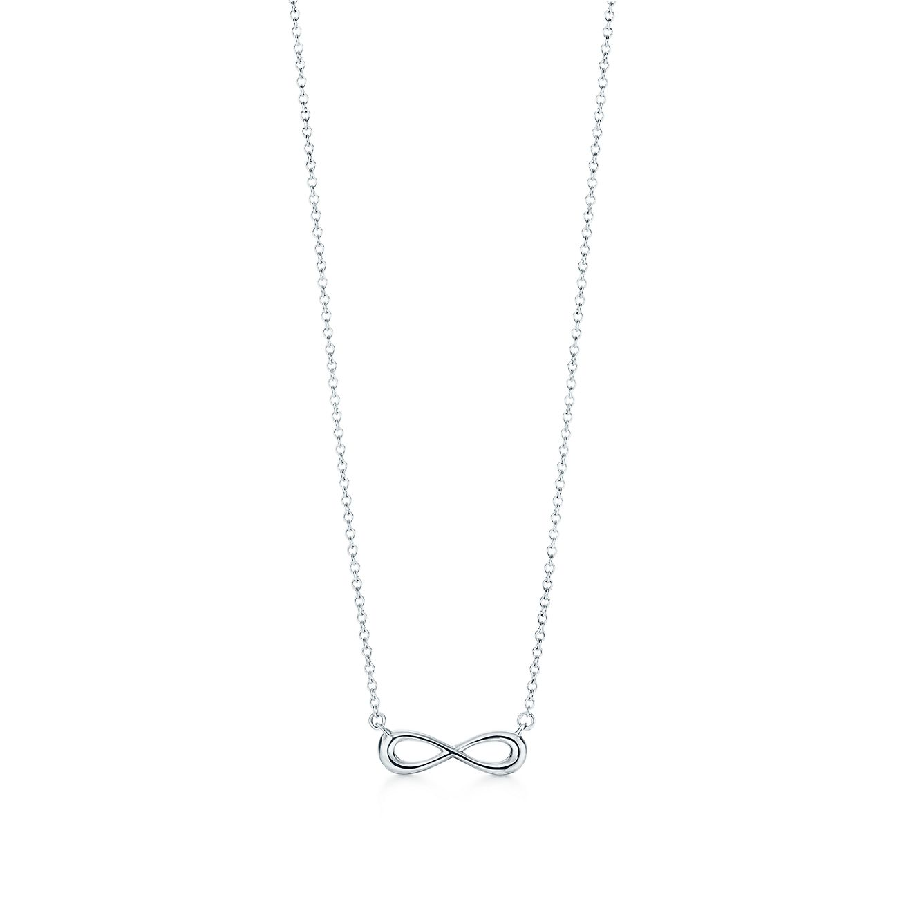 Tiffany infinity pendant in sterling silver mini tiffany co tiffany infinitypendant audiocablefo Light gallery