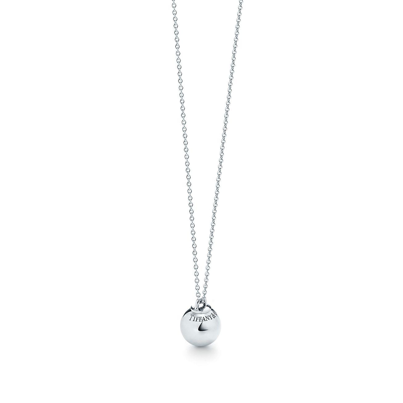 Shop tiffany hardwear sterling silver ball pendant tiffany co tiffany hardwearball pendant audiocablefo light Images