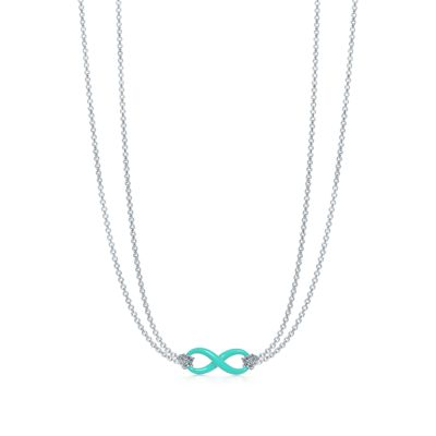 Sterling Silver Infinity Symbol Pendant in Tiffany Blue® | Tiffany ...