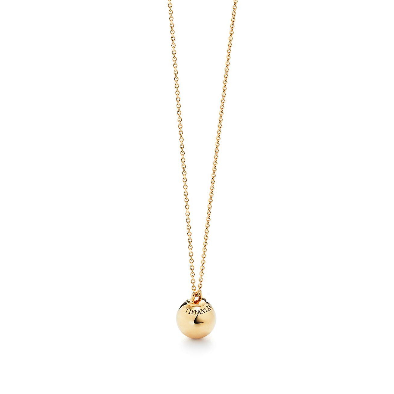 Tiffany City HardWear ball ring in 18ct gold, mini - Size 5 Tiffany & Co.