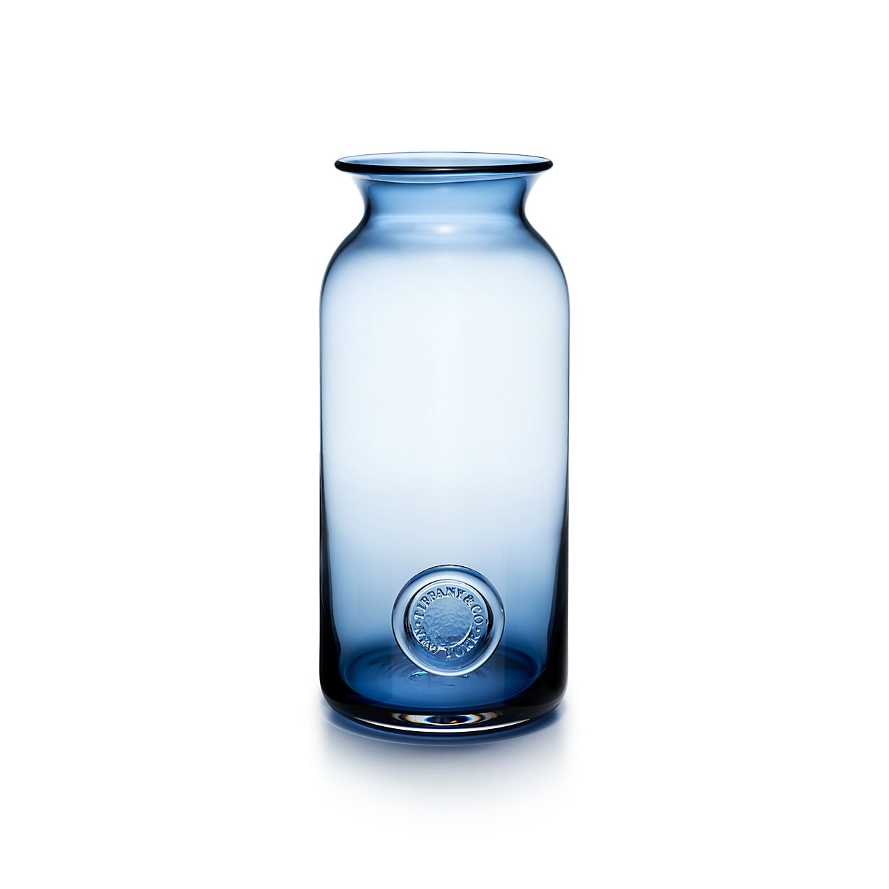 Tiffany seal vase in ink blue lead crystal small tiffany co tiffany sealvase tiffany sealvase reviewsmspy