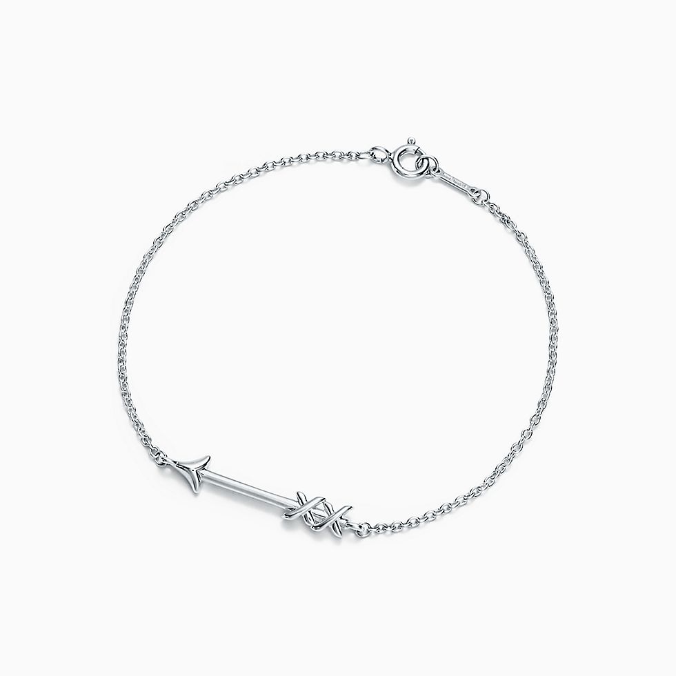 Drop A Hint For Paloma S Graffiti Arrow Bracelet In Sterling Silver Medium Now