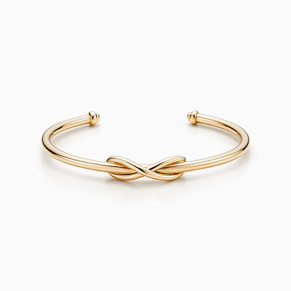 New Tiffany Infinity Cuff In 18k Gold, Large