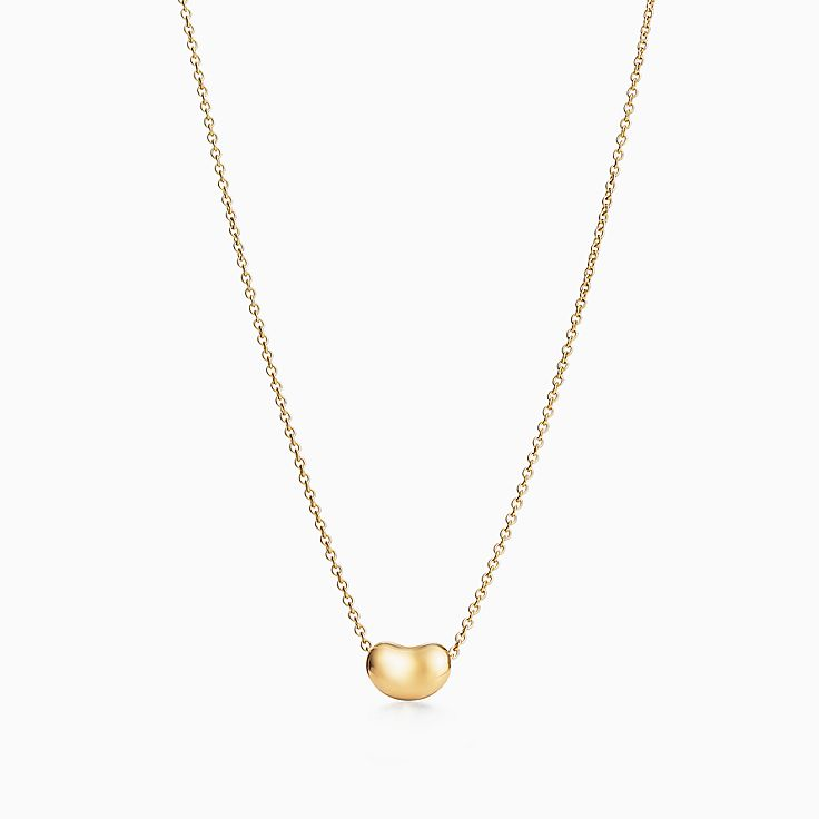 18k gold necklaces pendants tiffany co new aloadofball Images