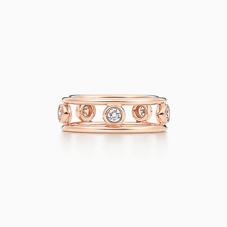 18k Rose Gold Rings