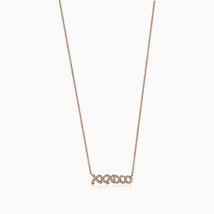 Diamond necklaces pendants tiffany co httpmediatiffanyisimagetiffanyecombrowsempalomas graffiti love kisses pendant 37359777980163sv1gopusm100100600defaultimage aloadofball Images