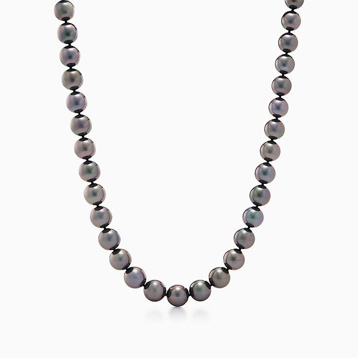Pearl Jewellery Necklace >> Pearl Jewelry Pearl Necklaces Bracelets Earrings Tiffany Co