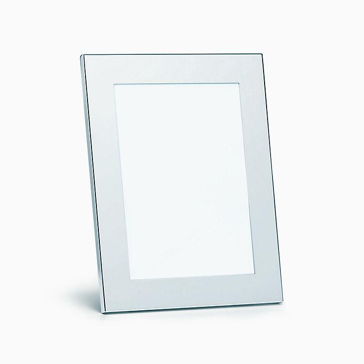new rectangular frame in sterling silver