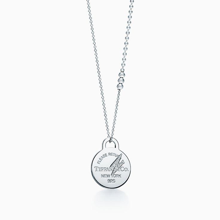 Shop fine necklaces pendants tiffany co httpmediatiffanyisimagetiffanyecombrowsemreturn to tiffany etched lightning bolt pendant 61243445976839av1gopusm100100 audiocablefo light Images