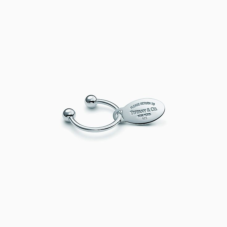 Accessories Silver Accessories Tiffany Key Rings Return To