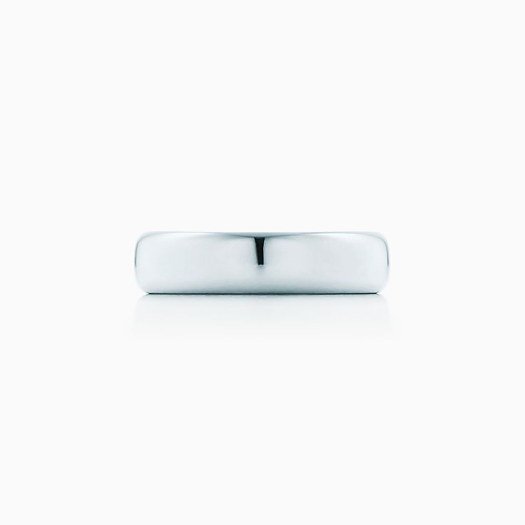 new tiffany classic wedding band ring in platinum 45 mm wide - Wedding Ring Band