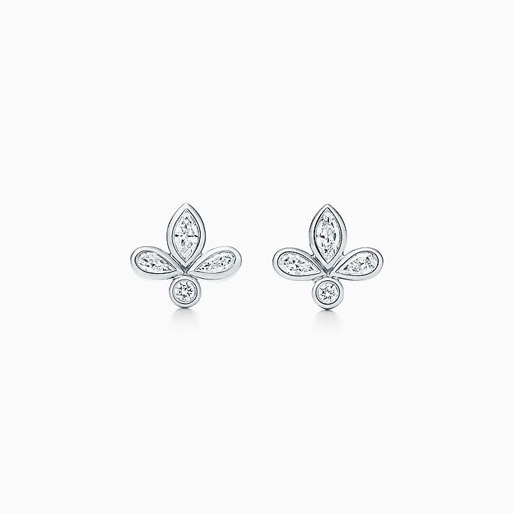 platinum earrings studs hoops co
