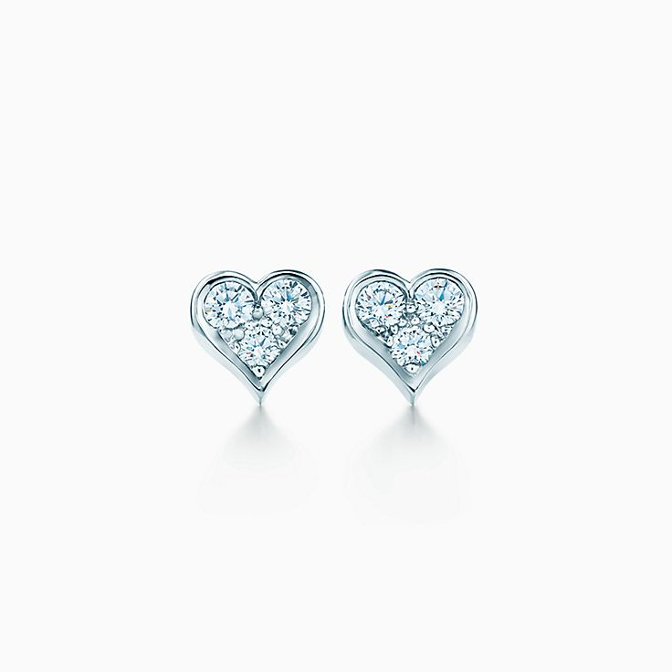 Jewelry Earrings Tiffany Earrings Heart
