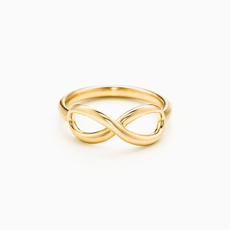 new tiffany infinity ring in 18k gold - Infinity Wedding Ring