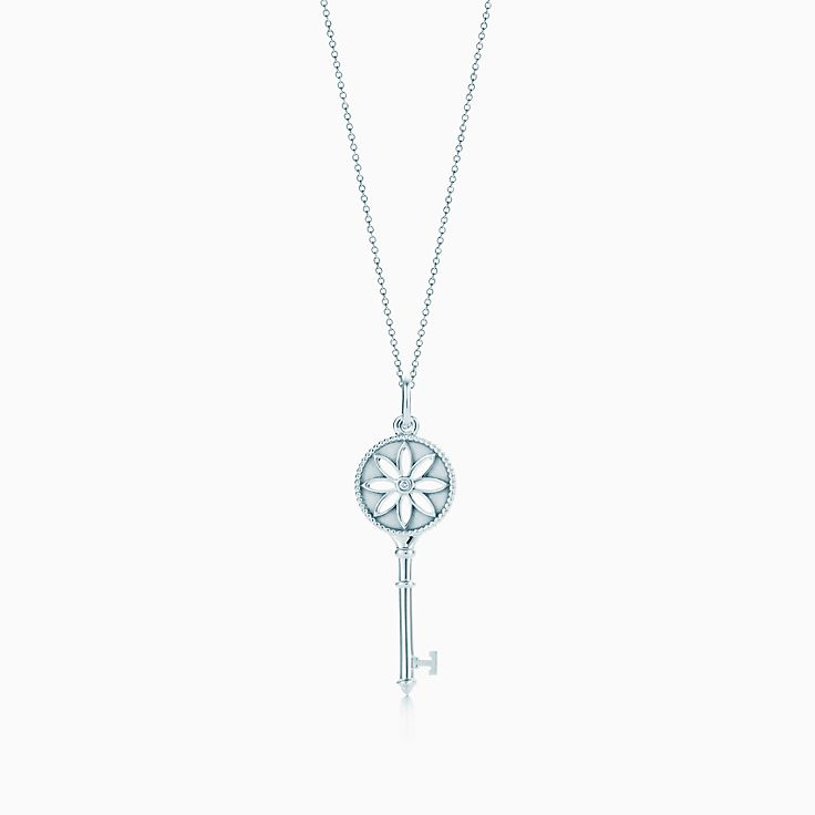 Search results tiffany co new tiffany keys daisy key pendant in sterling silver with a diamond aloadofball Gallery