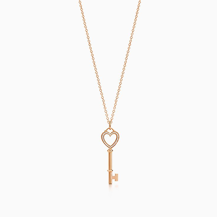 63b16e307 tiffany necklaces key