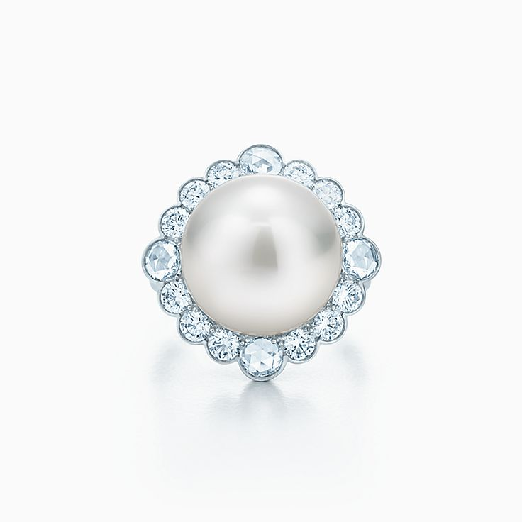 Pearl Engagement Rings Tiffany