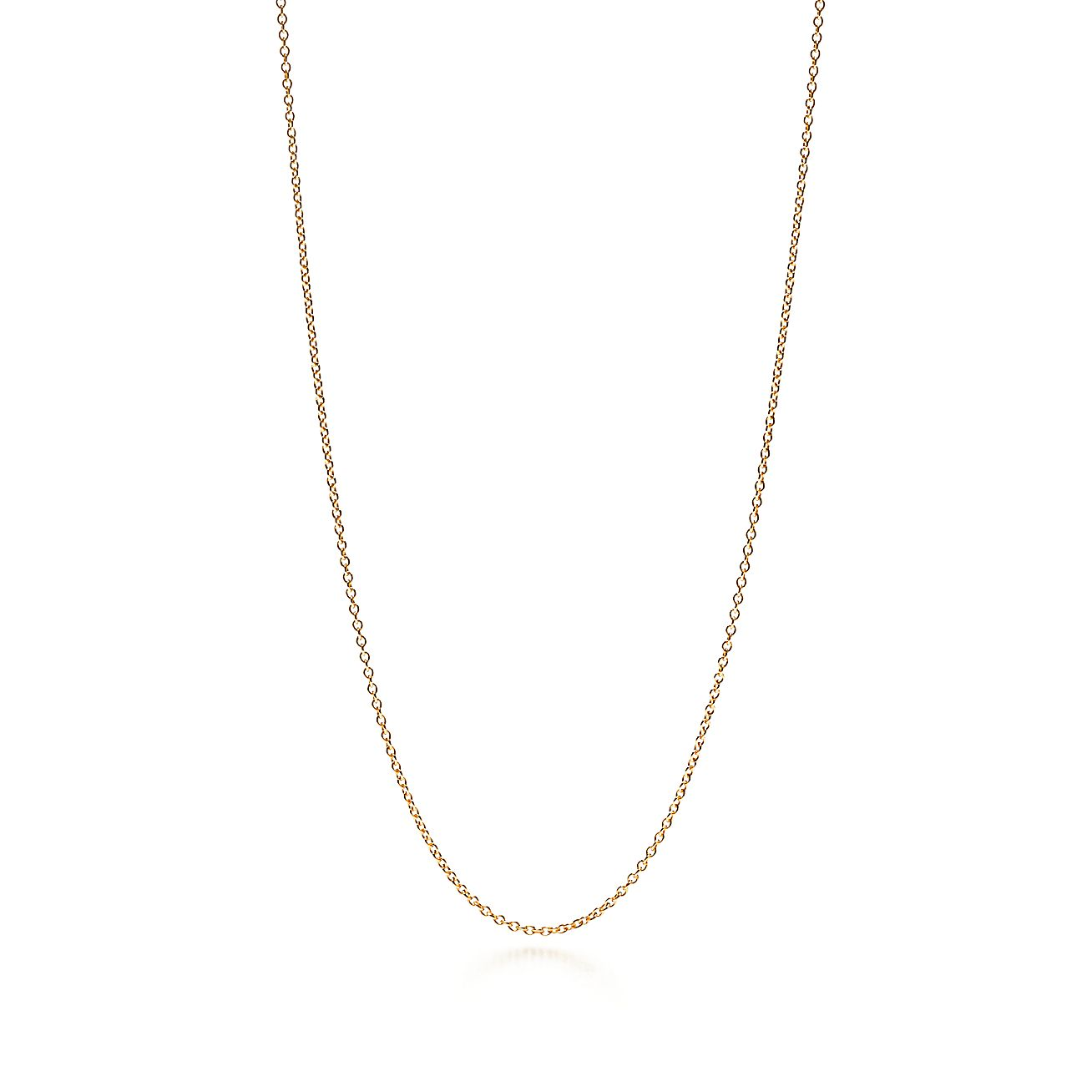 Shop 18K Gold Chain Necklace in 30\