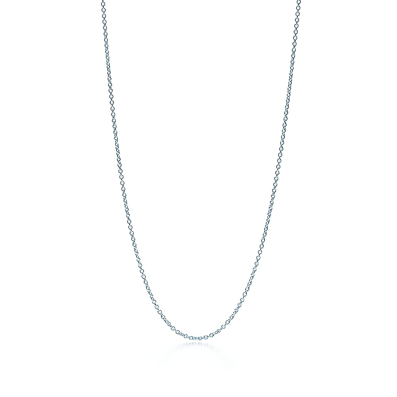 Chain in 18k white gold tiffany co aloadofball Image collections