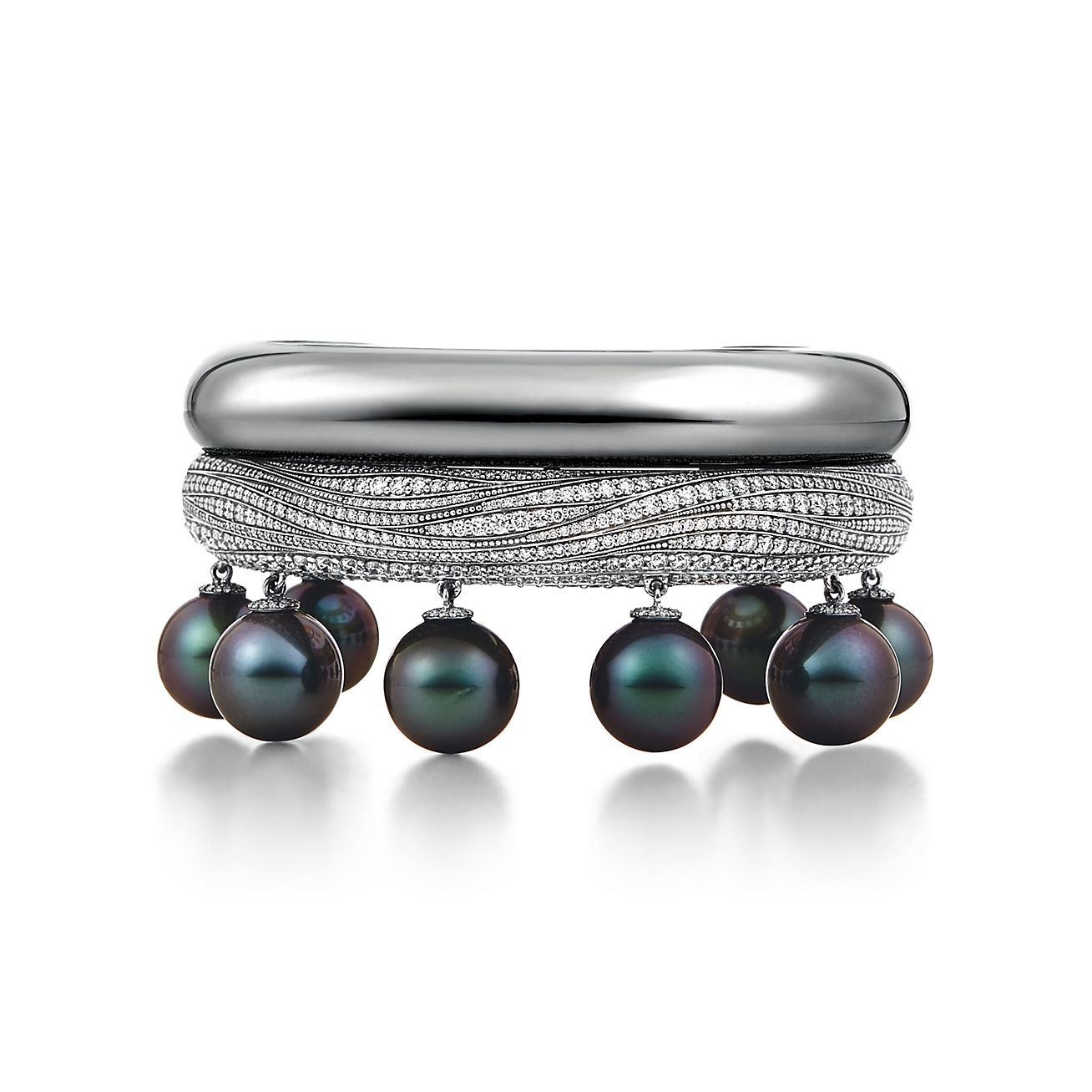 Bracelete de pérolas tiffany