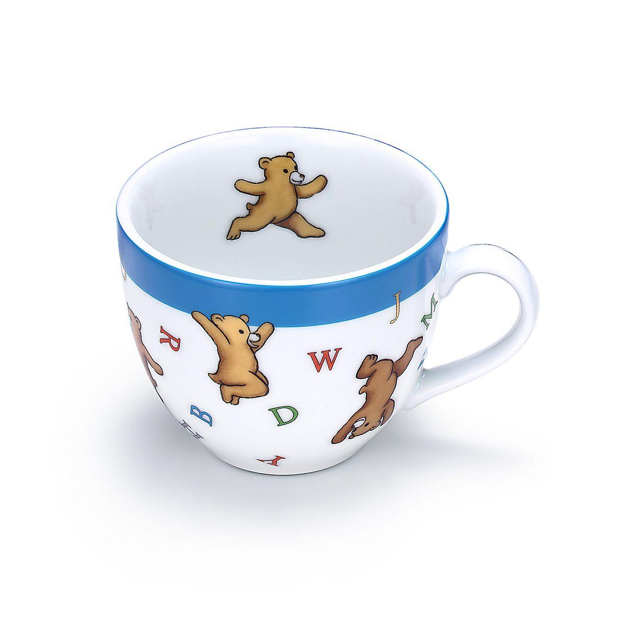 Tiffany Baby Gifts Australia : Tiffany abc bears three piece baby set in porcelain
