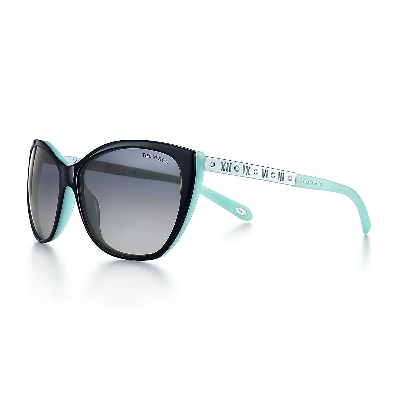e73537ddc12c Tiffany Metal Cat Eye Sunglasses