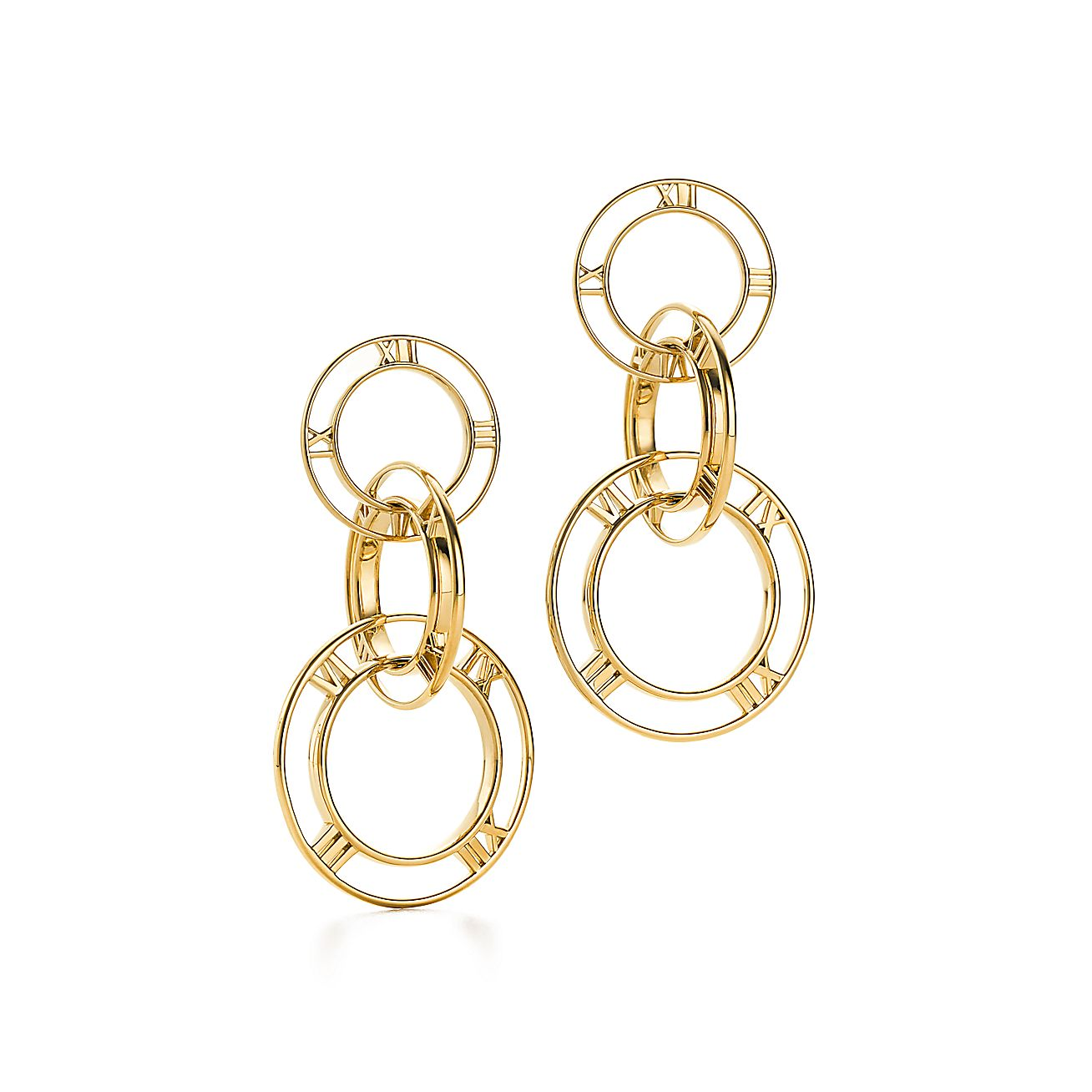 Atlas®:Triple Drop Earrings