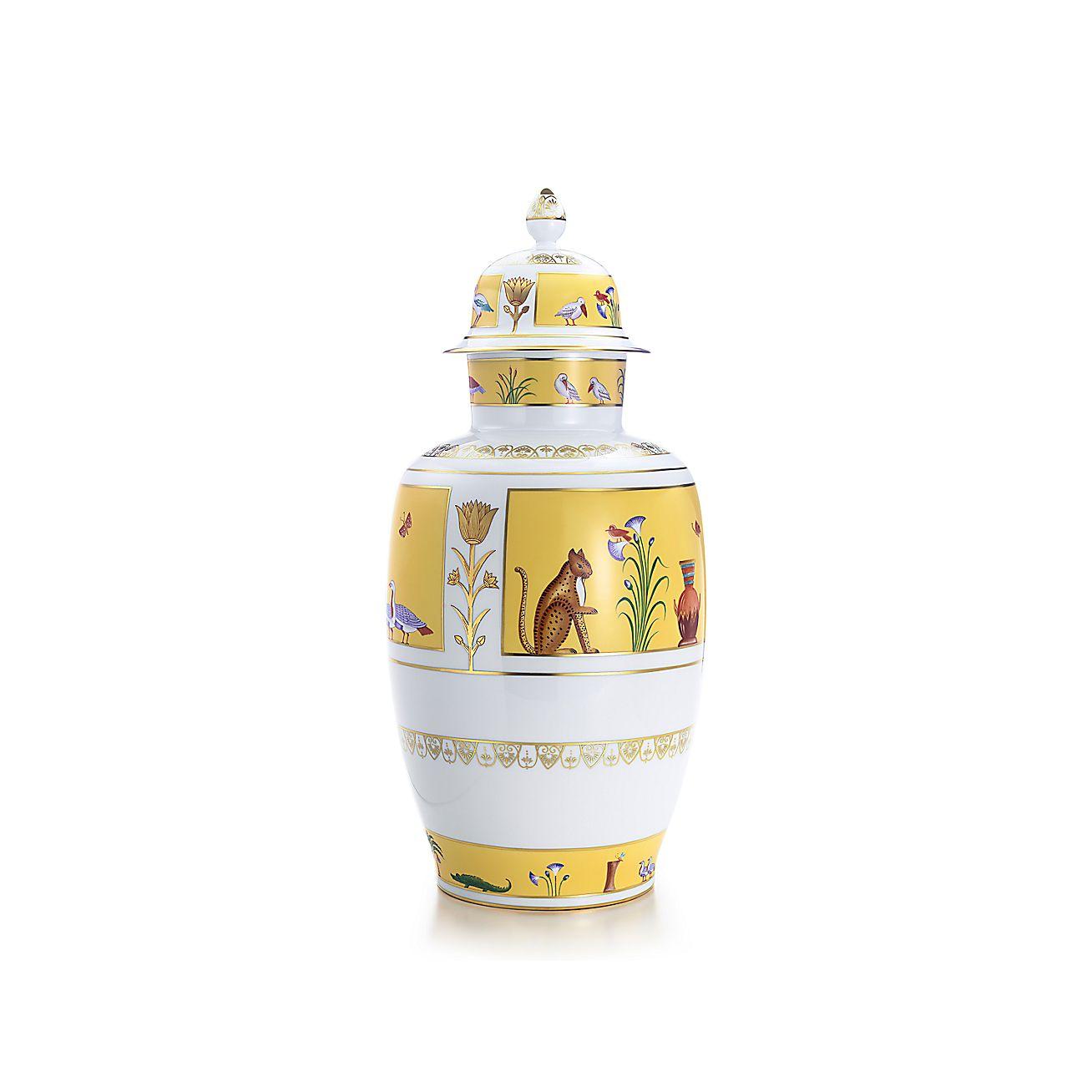 Birds of the Nile:Kaiser Ginger Jar