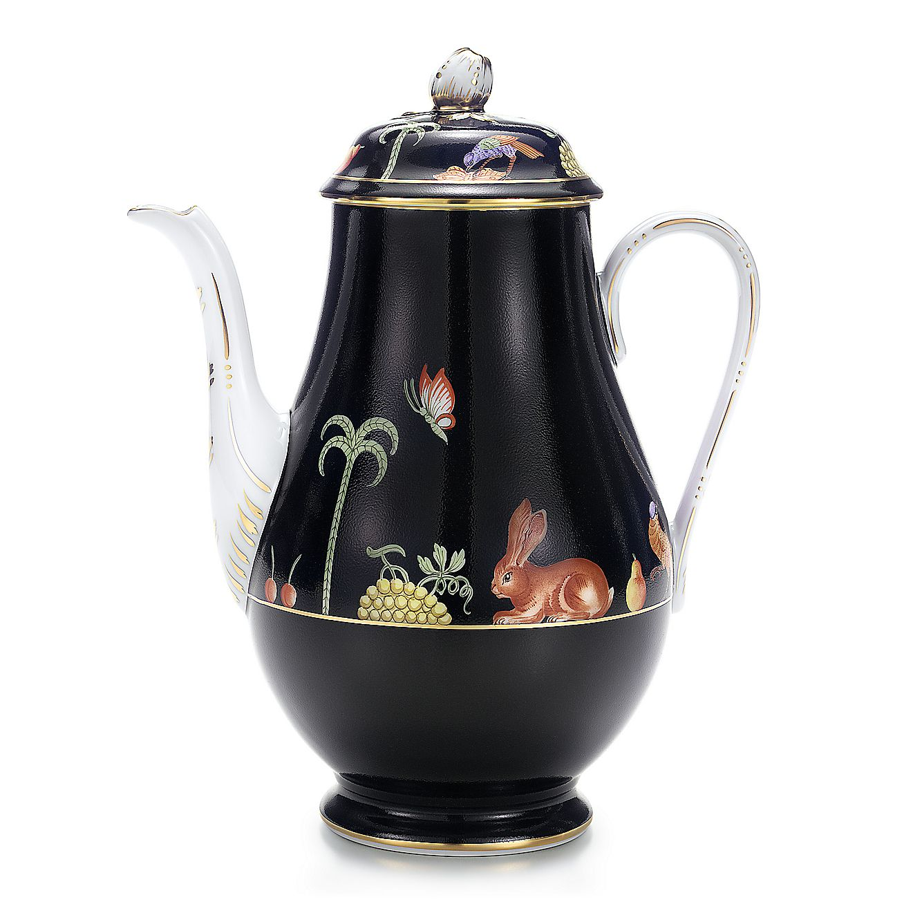 Black Shoulder:Coffee Pot