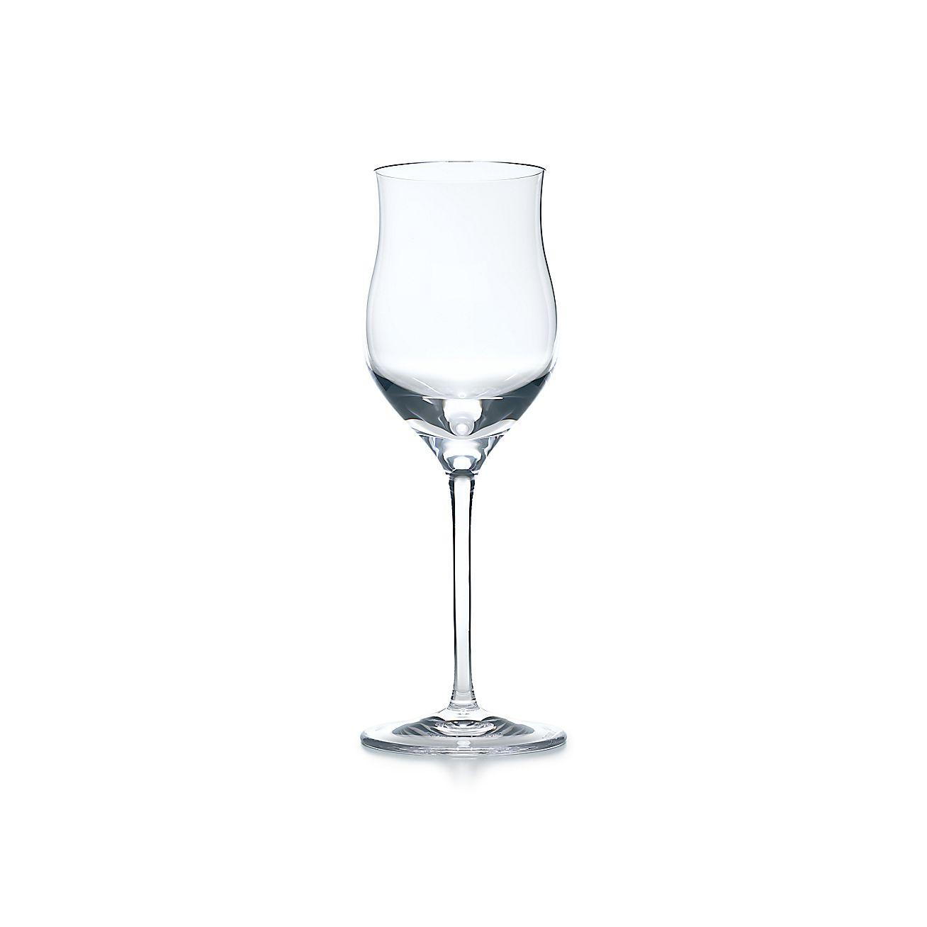 All Purpose Dessert Wine Glass Handblown Tiffany Co