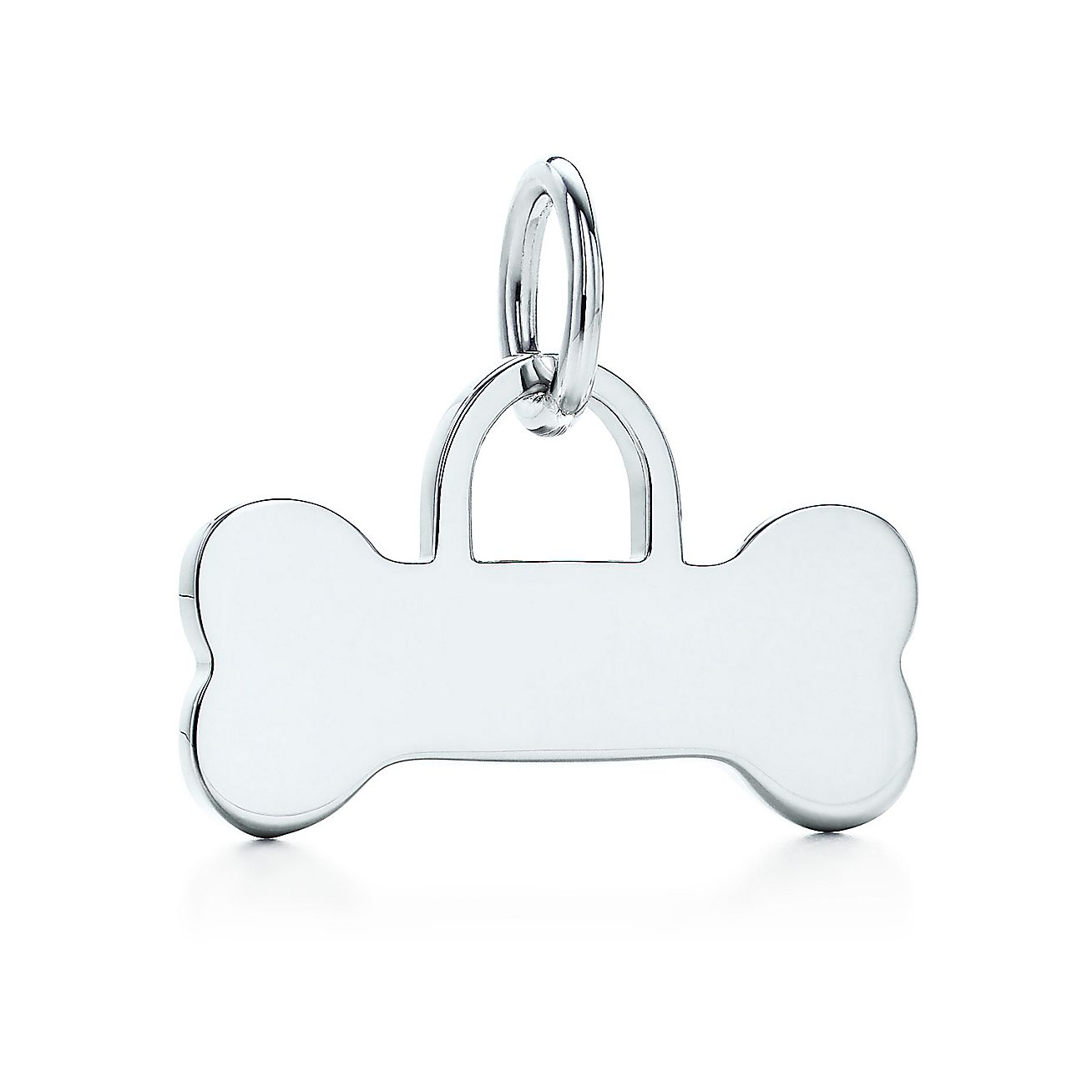 Dog Bone tag charm