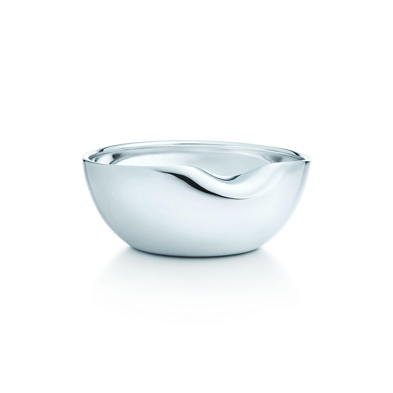 Elsa Peretti 174 Thumbprint Bowl In Sterling Silver 3 5