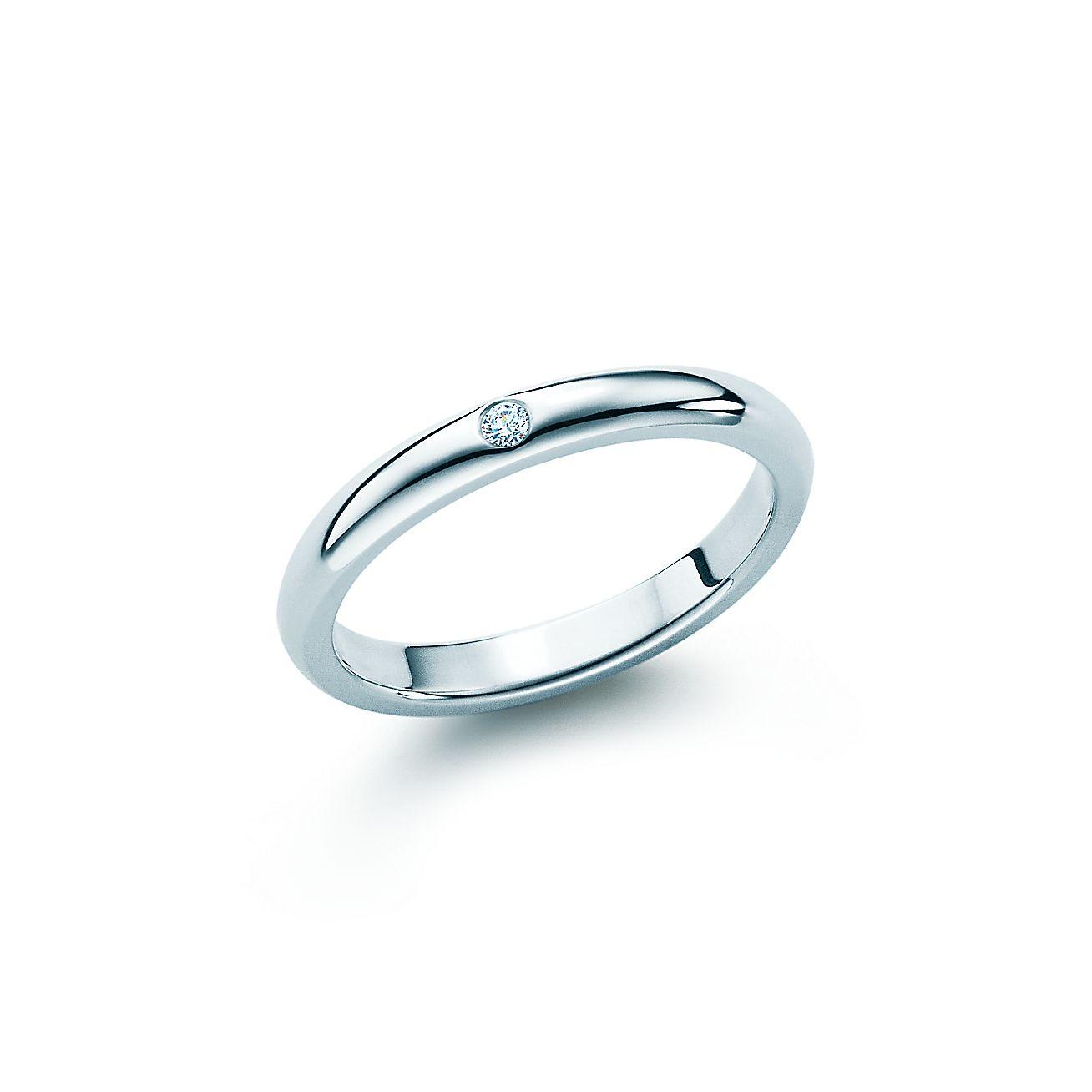 Tiffany Engagement Rings Round Elsa Peretti® ban...