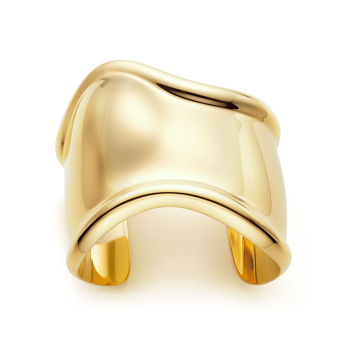 Elsa PerettiR Bone Cuff In 18k Gold Medium