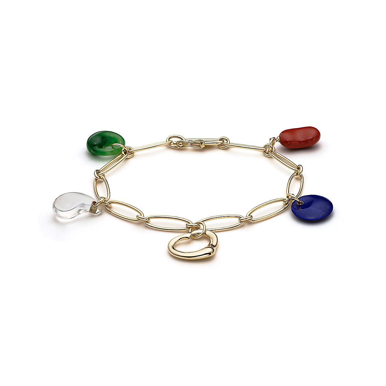 Elsa Peretti®:Carved Charm Bracelet