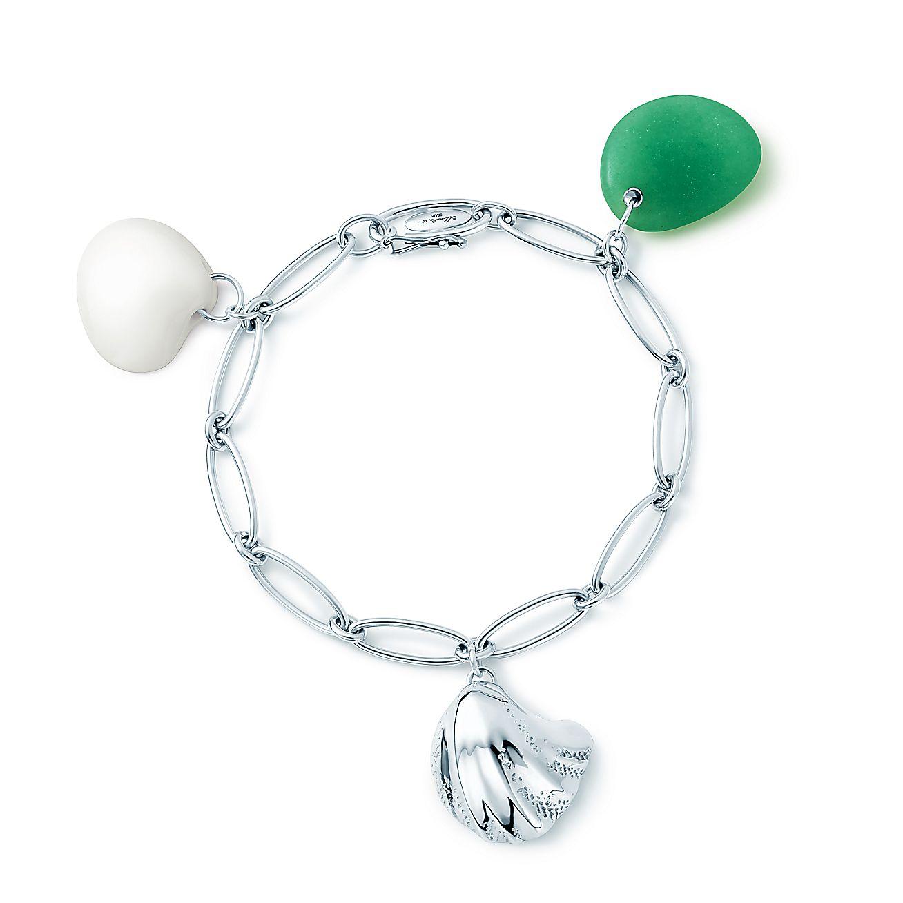 Elsa Peretti®:Cat Island<br>Wave Shell<br>Charm Bracelet