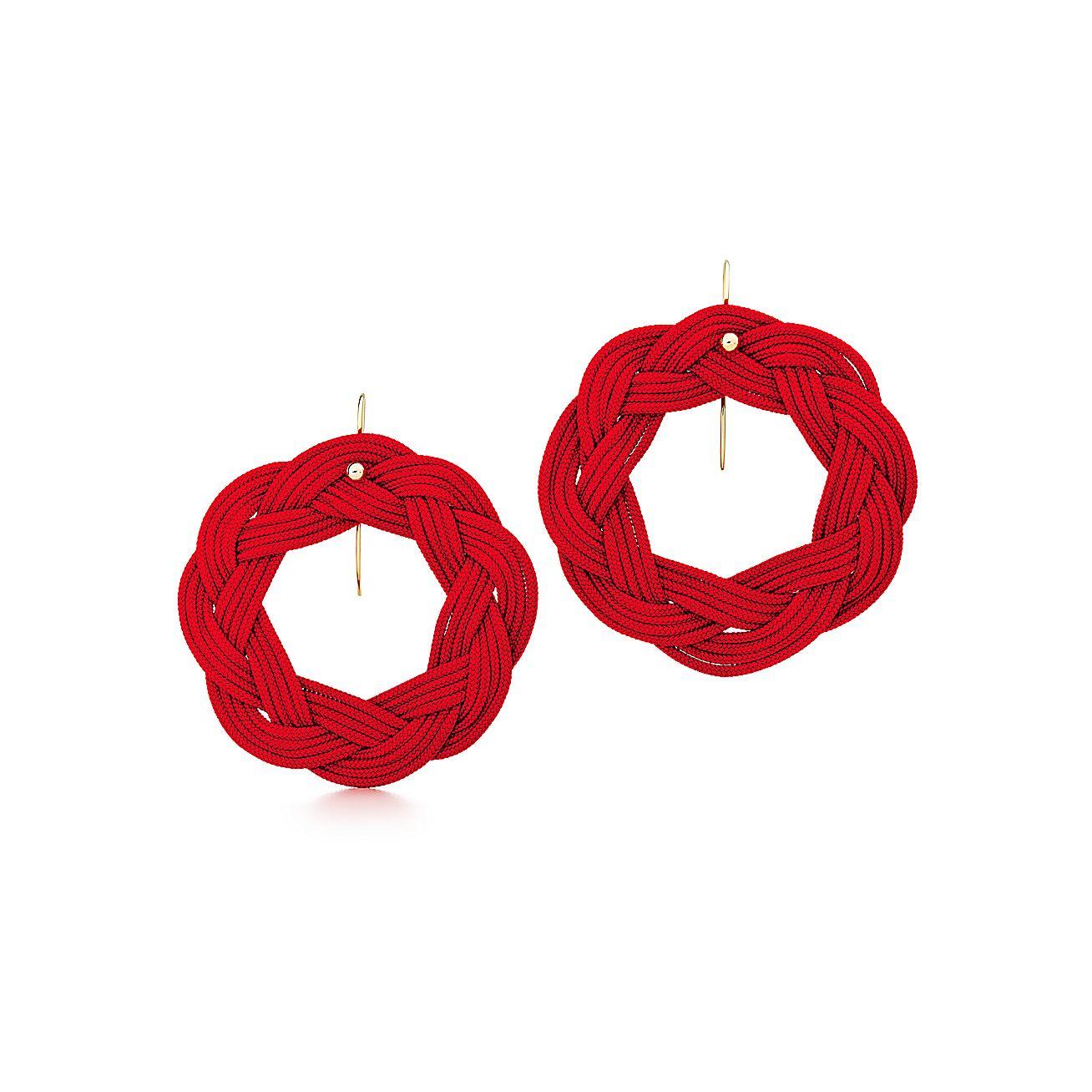 Elsa Peretti®:Circle Hook Earrings