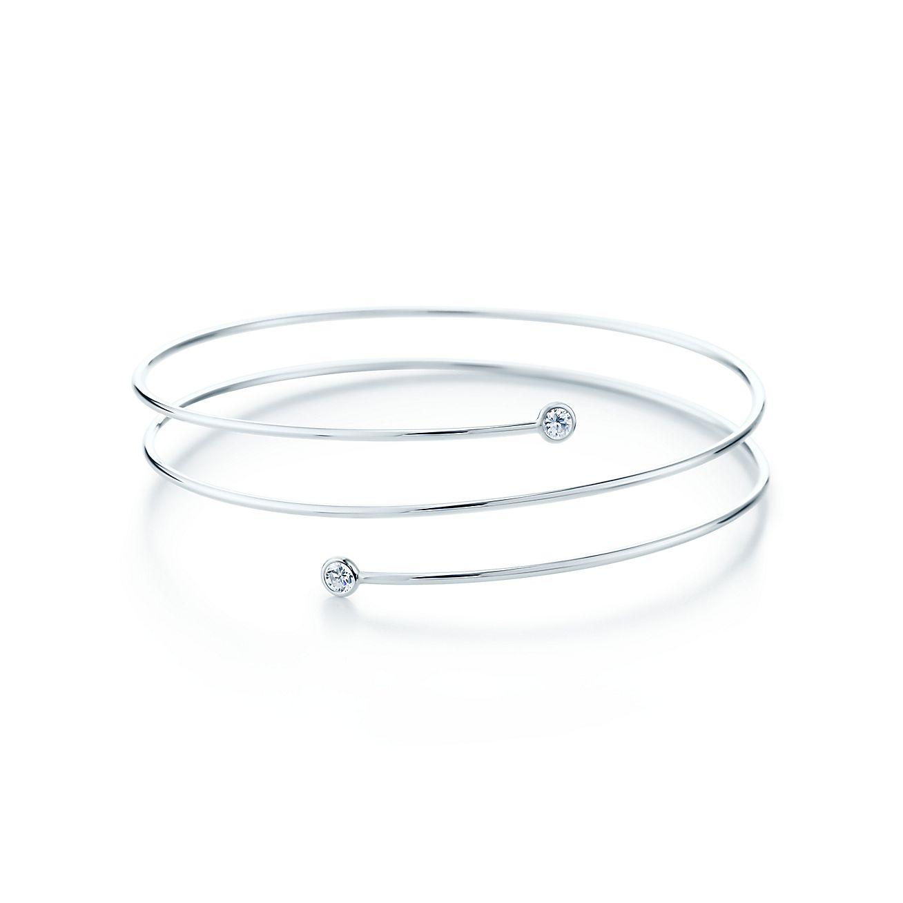 Elsa Peretti®:Diamond Hoop Bracelet