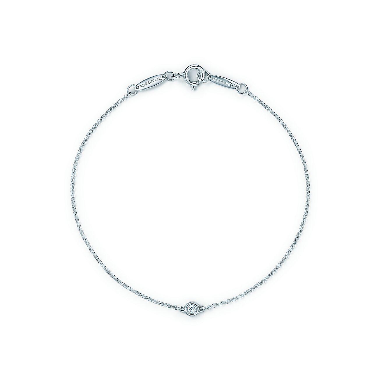 Elsa Peretti™ Diamonds By The Yard™ Bracelet In Sterling