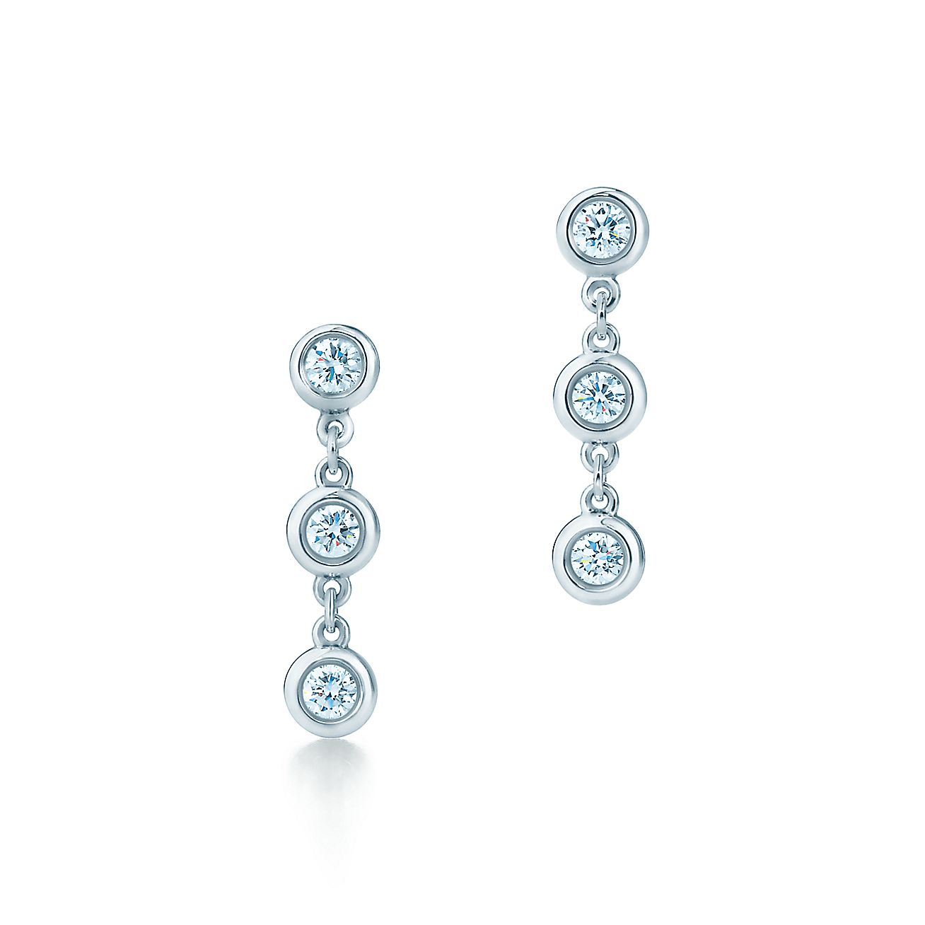 Elsa Peretti®:Diamonds by the Yard®<br>Drop Earrings