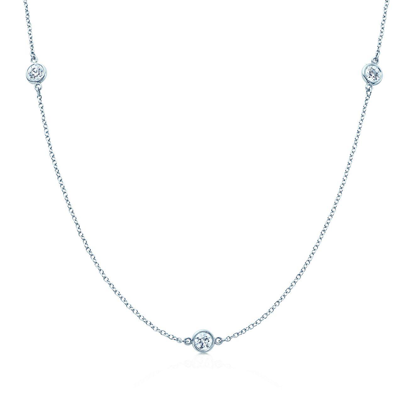 elsa peretti 174 diamonds by the yard 174 necklace