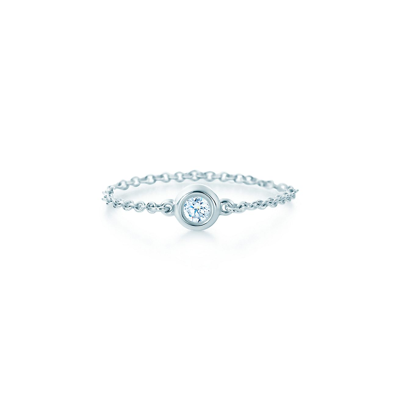 elsa peretti diamonds by the yard ring in sterling On diamonds by the yard ring