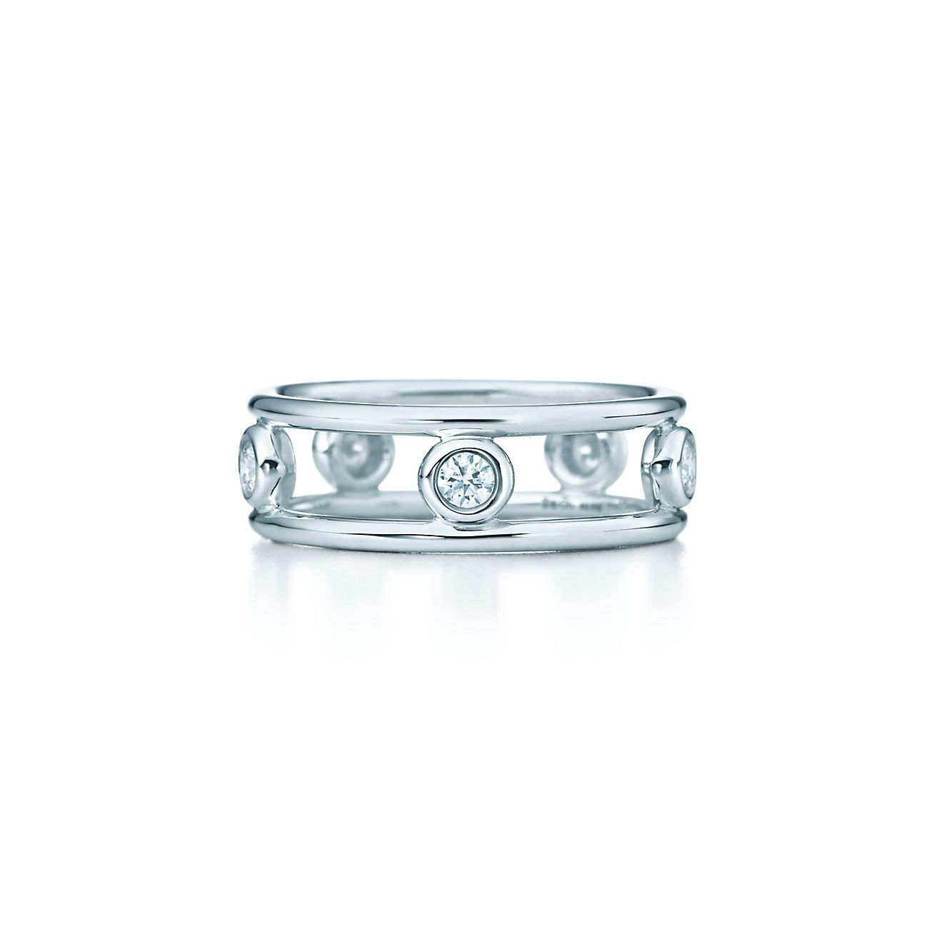 elsa peretti 174 diamonds by the yard 174 ring in sterling