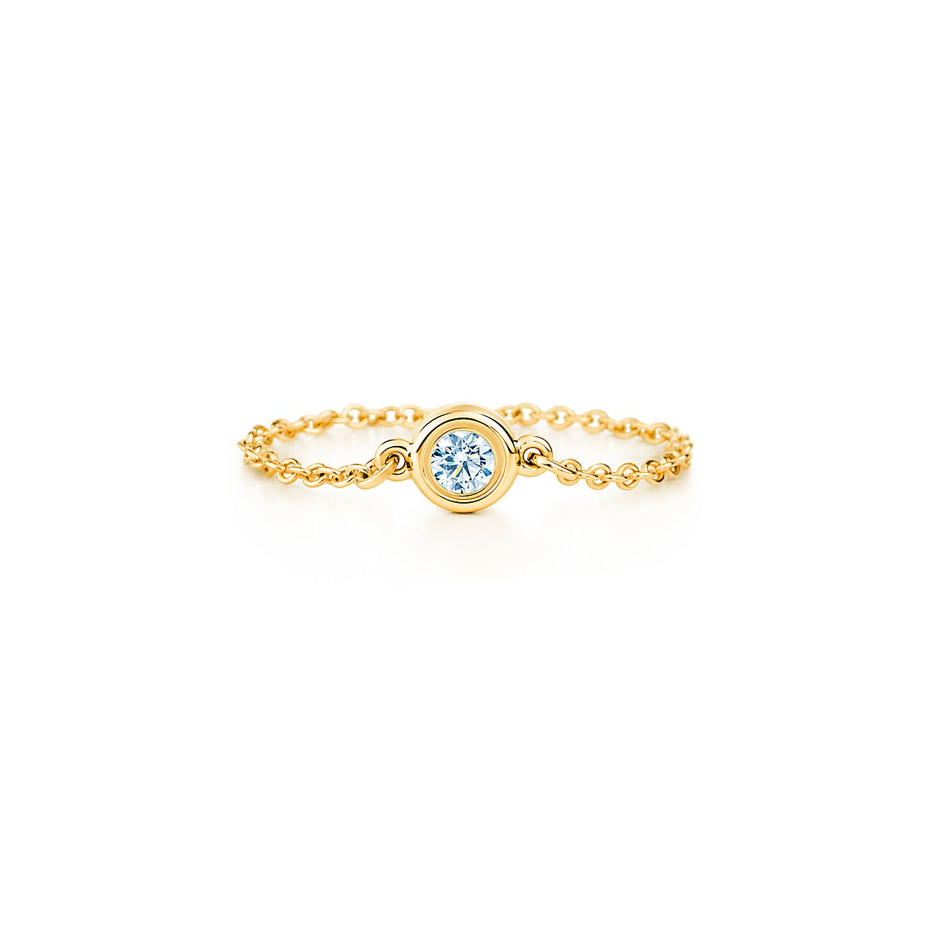 elsa peretti diamonds by the yard ring in 18k gold On diamonds by the yard ring