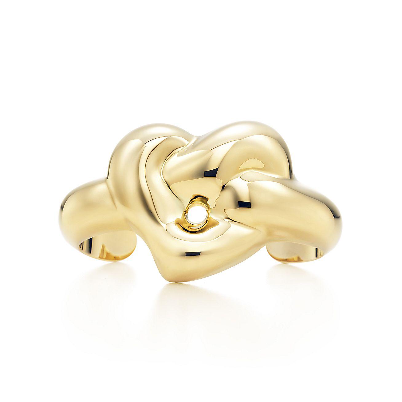 Elsa Peretti®:Knotted Heart Cuff