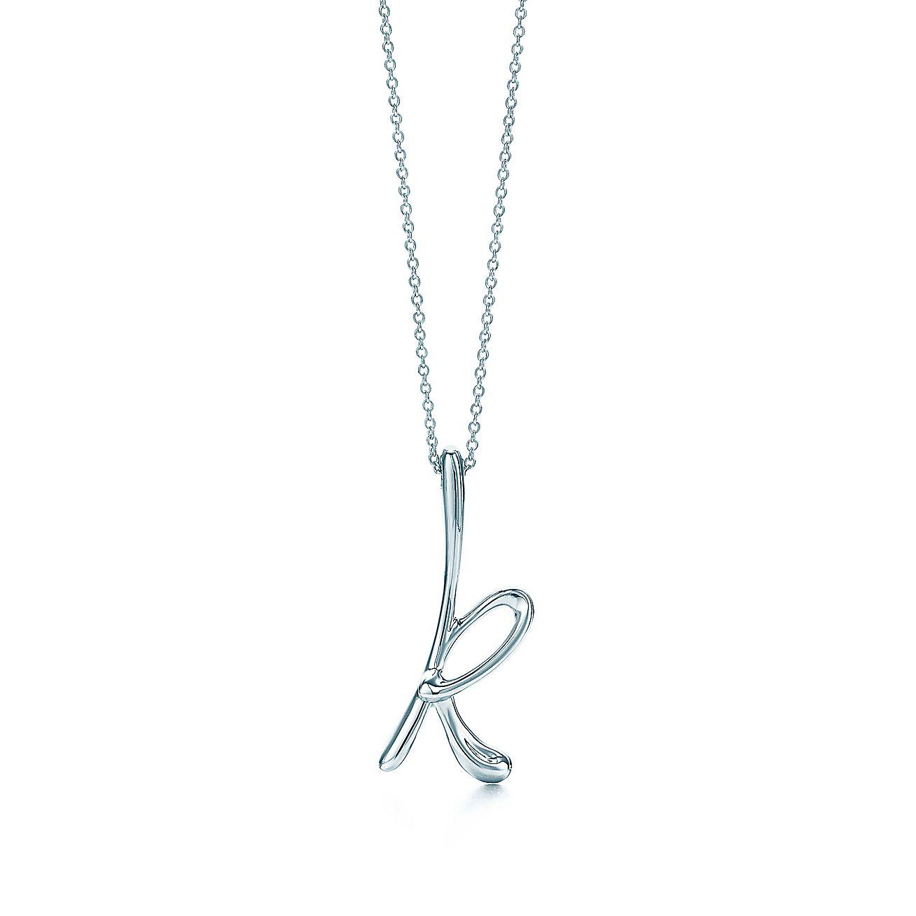 """Elsa Peretti®:Letter """"K"""" Pendant"""