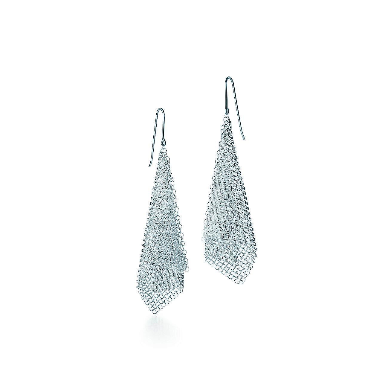 Elsa Peretti®:Mesh Scarf Earrings