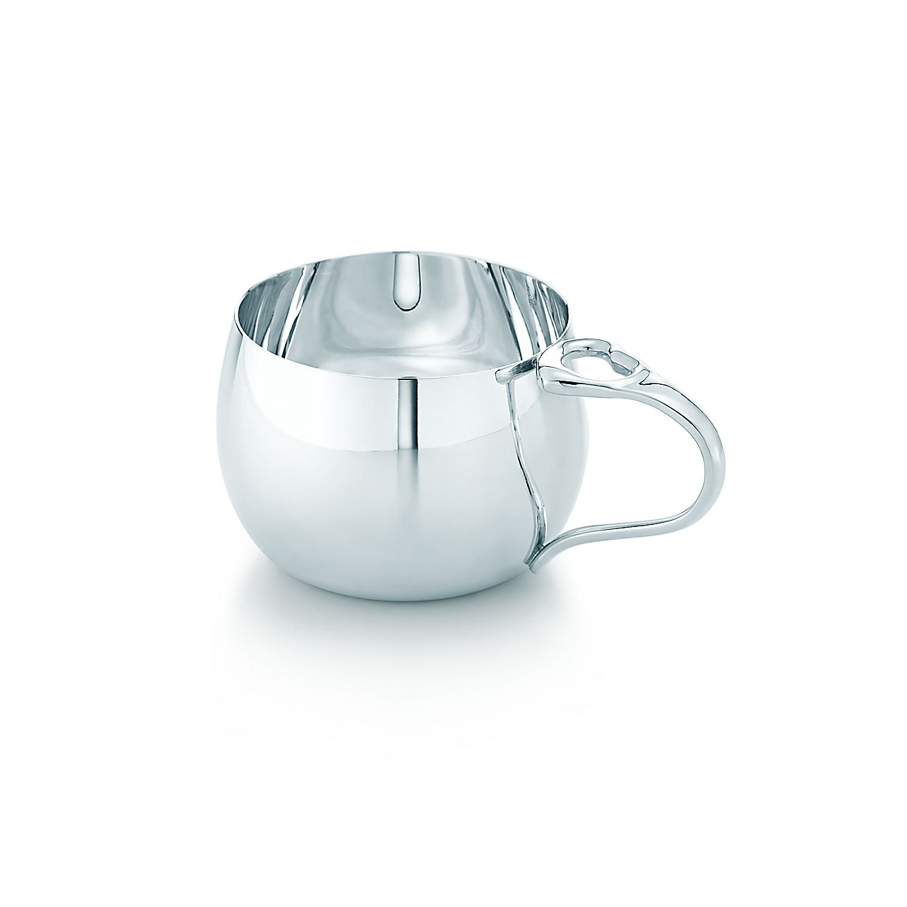 Tiffany Baby Gifts Australia : Elsa peretti open heart baby cup in sterling silver