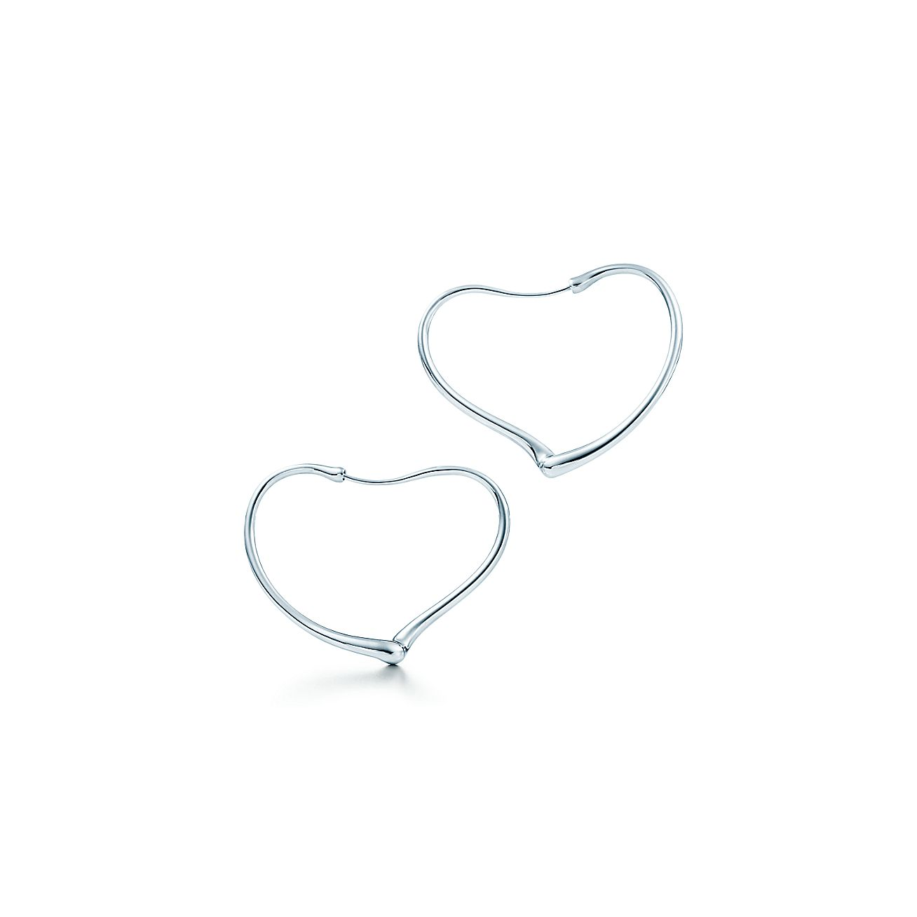 Elsa Peretti®:Open Heart Hoop Earrings