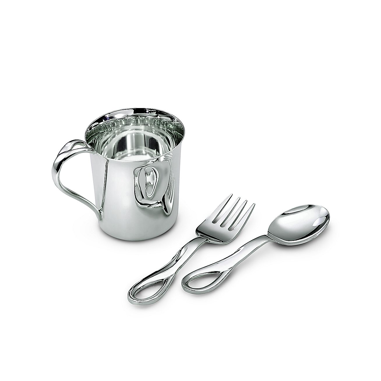 Tiffany Baby Gifts Australia : Elsa peretti padova three piece baby set in sterling